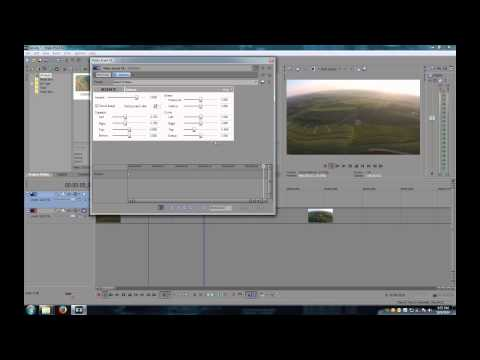Sony Vegas Remove Fisheye (Lens Correction)