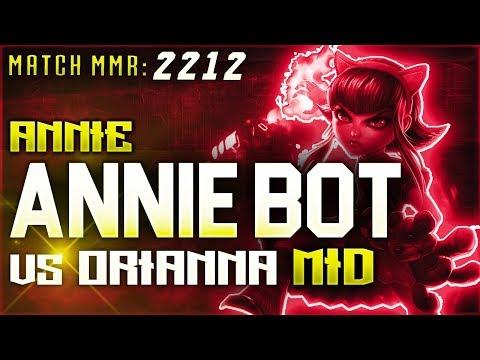 S8 | Annie Bot Annie vs Orianna MID | High Elo Ranked League of Legends