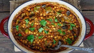 Greek Braised Eggplant Recipe | The Mediterranean Dish