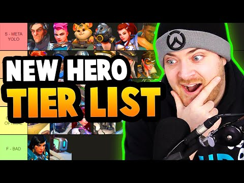 Overwatch Hero Tier List for Competitive and Quick Play [March 2021]