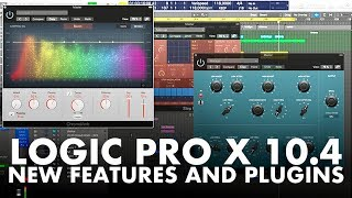 Logic Pro X 10.4 Update - All NEW plugins and features!
