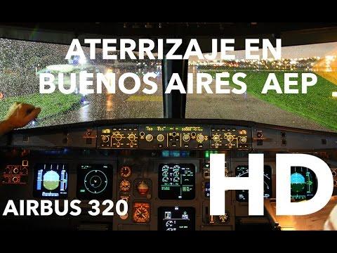 Aterrizaje en Aeroparque