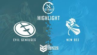 Highlight DAC 2018 | Main Event Day 1 | Evil Geniuses vs Newbee