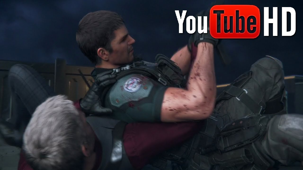 Resident Evil Vendetta Chris Vs Glenn Round 2 720p Hd Youtube