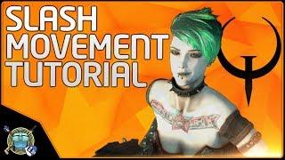 Quake Champions - Slash Movement Tutorial (Crouch Slide)