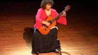 Guitarist Eva Fampas plays