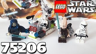 Обзор LEGO Star Wars 75206 - Jedi and Clone Troopers Battle Pack