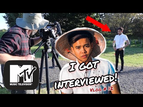 I GOT INTERVIEWED By MTV Australia New Zealand | Filipino In New Zealand Vlog