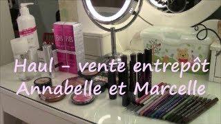 Haul Annabelle et Marcelle vente entrepôt Thumbnail