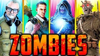 ❄️ALL ZOMBIES EASTER EGGS!!❄️ (Snow Maps Only!) // Call of Duty: Zombies