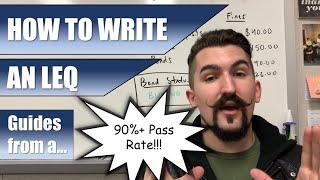 How to Write an LEQ   2019   AP World, AP Euro, & APUSH