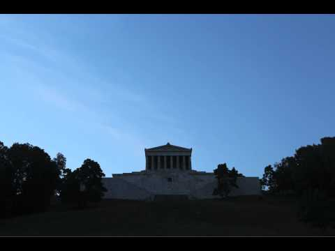 Timelapse at the Walhalla Germany