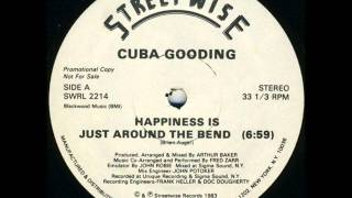 CUBA GOODING - HAPPINESS  IS JUST ROUND THE BEND 12 INCH (PROMO)