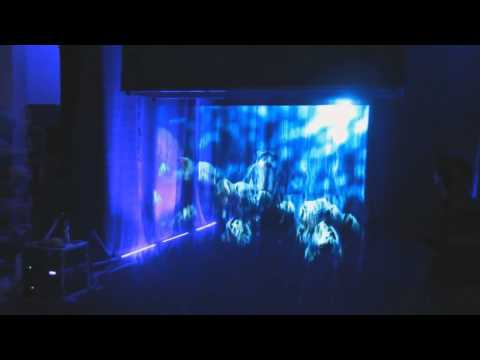 Fog Screen Projection
