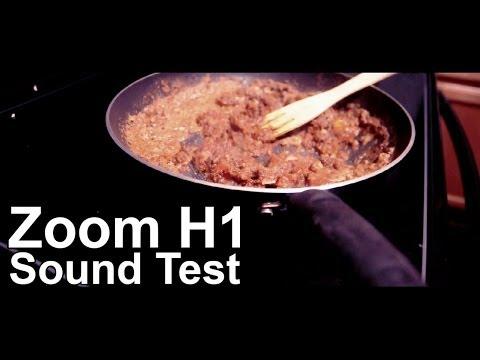 QUALITY Zoom H1 Sound Test!