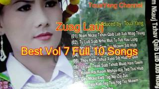 Zuag Lauj Best  vol 7 Full 10 Songs