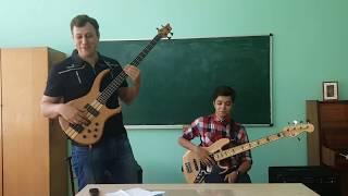 Развитие техники игры на бас гитаре