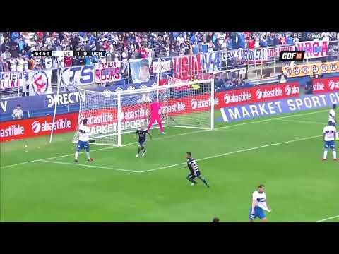 Gol de pinilla Católica 1-1 Universidad de Chile | Campeonato Scotiabank 2018