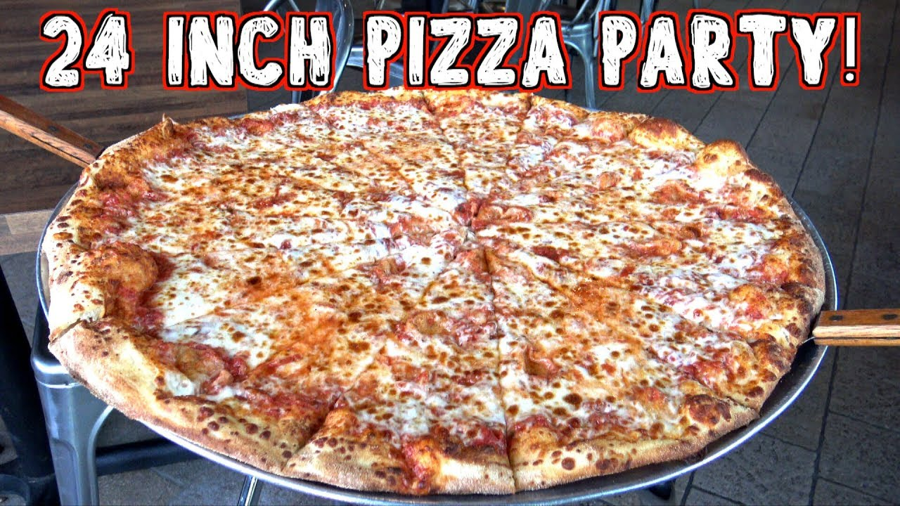 "24"" Party Pizza Challenge for Two at Venezias in Phoenix ..."
