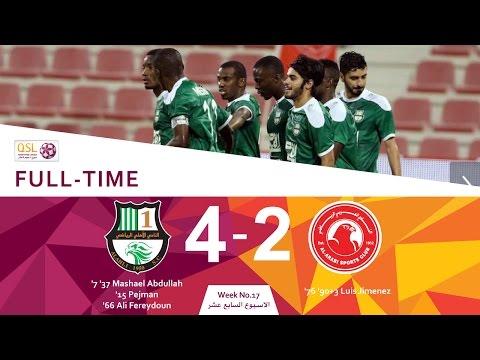 Al Ahli 4 - 2 Al Arabi (Week 17)