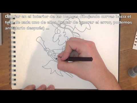 Cmo dibujar una bruja  fcil tutorial paso a paso  YouTube