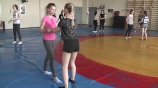 Урок самообороны для девочек 29.04.17