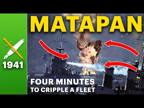 Battle of Cape Matapan: Just Four Minutes to Cripple a Fleet