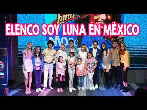 Elenco Soy Luna PREVIO AL PRIMER SHOW MEXICO Y MEET