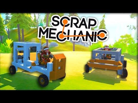 КАК ПОСТРОИТЬ МАШИНУ! (Scrap Mechanic)