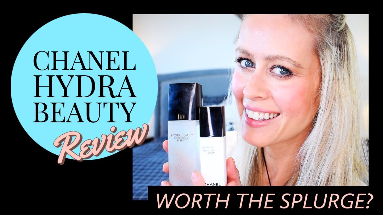 Chanel Hydra Beauty Skincare Review Micro Essence And Camellia Water Cream Zegami Beauty 2020 Youtube