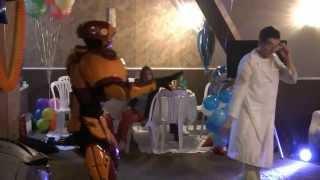 Супер шоу для детей Трансформеры на день рождения