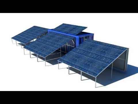 Solar Container - mobile solar plant