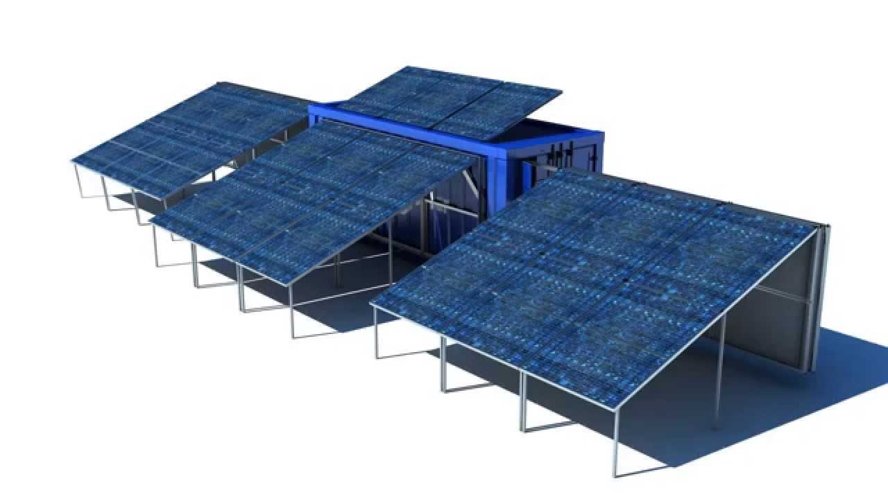 Solar Container Mobile Solar Plant Youtube