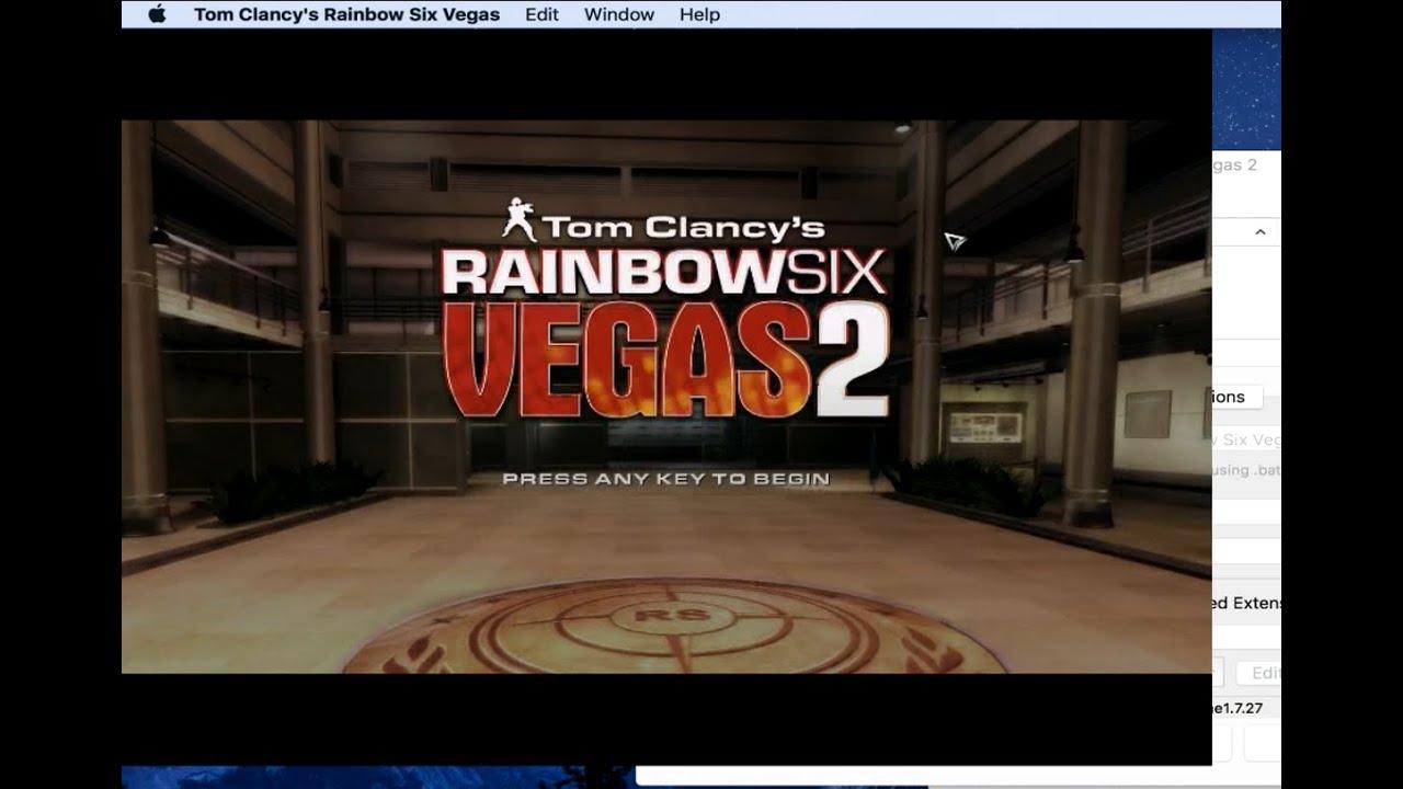 Tom Clancy's Rainbow Six Vegas on MAC? How to Install Tutorial/Walkthrough