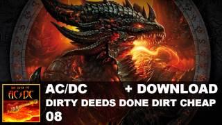 AC/DC - 08. Dirty Deeds Done Dirt Cheap