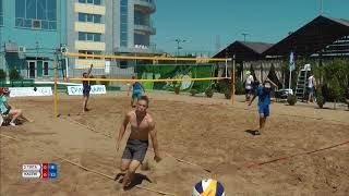 Пляжный волейбол (день физкультурника) 2 Тяга-Каспий