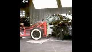 Toyota Corolla   2012   Side Crash Test   NHTSA   Hi Speed Cam   CrashNet1