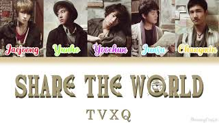 TVXQ (동방신기) - Share The World | One Piece Opening 11 [Colour…