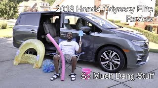 2018 Honda Odyssey Elite Review - So Much Dang Stuff