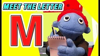 The Letter People Land (Episode 1) Meet Mr. M - Munching Mouth