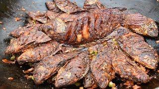 TN Nattu meen fish stylish fry villege food//handicapped cooking my brother//india all villege food