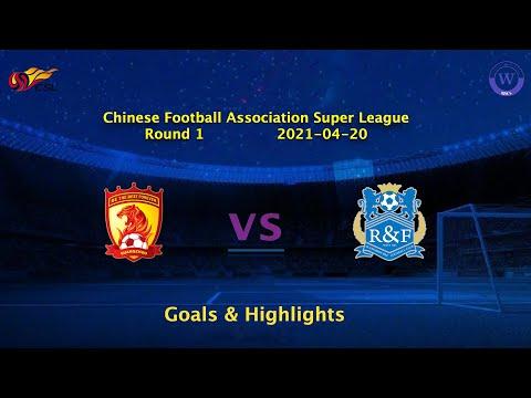 Guangzhou Evergrande Guangzhou R&F Goals And Highlights