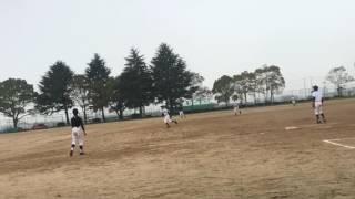 小野南中学校 野球部 2017.4.8 稲美中学校 投球1