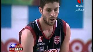 Basketball Tournoi Zonal CACC Club Africain vs Etoile Sportive de Rades 1ère mi tp