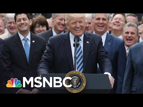 President Donald Trump Resistance Sees Record Fundraising After AHCA Vote | The Last Word | MSNBC