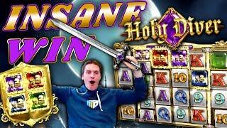 INSANE WIN on Holy Diver Slot *FINALLY!* - £2 Bet