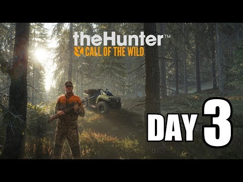 Thehunter : Call of the Wild - The Hunters Journal Day 3