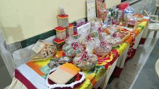 Rukhwat 20 (रुखवात) in Maharashtrian / Marathi Wedding prepared by bride in 4k