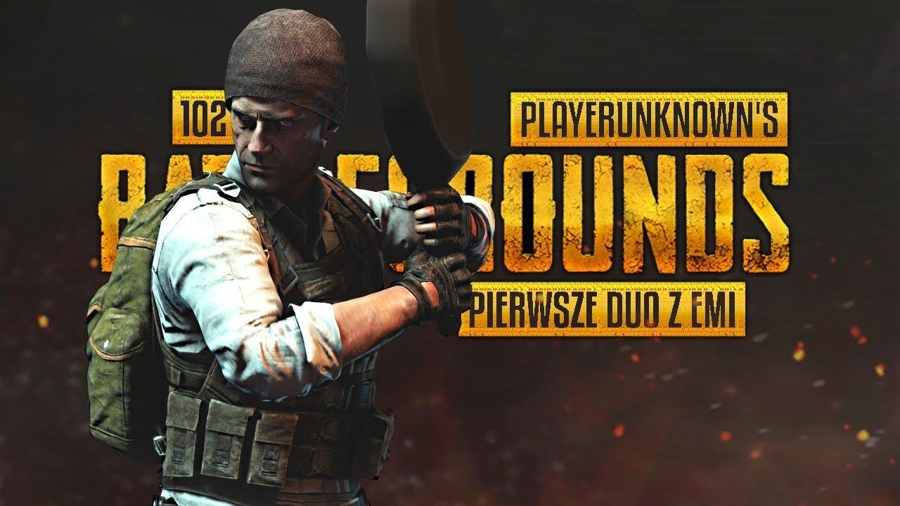Playerunknown's Battlegrounds (PL) #102 – Pierwsze duo z Emi (FPP Gameplay PL / Zagrajmy w)
