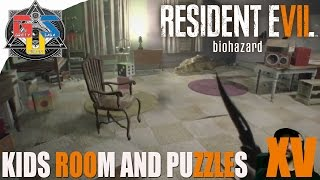 Resident Evil 7 Walkthrough Part  15 - Kids Room And Puzzles